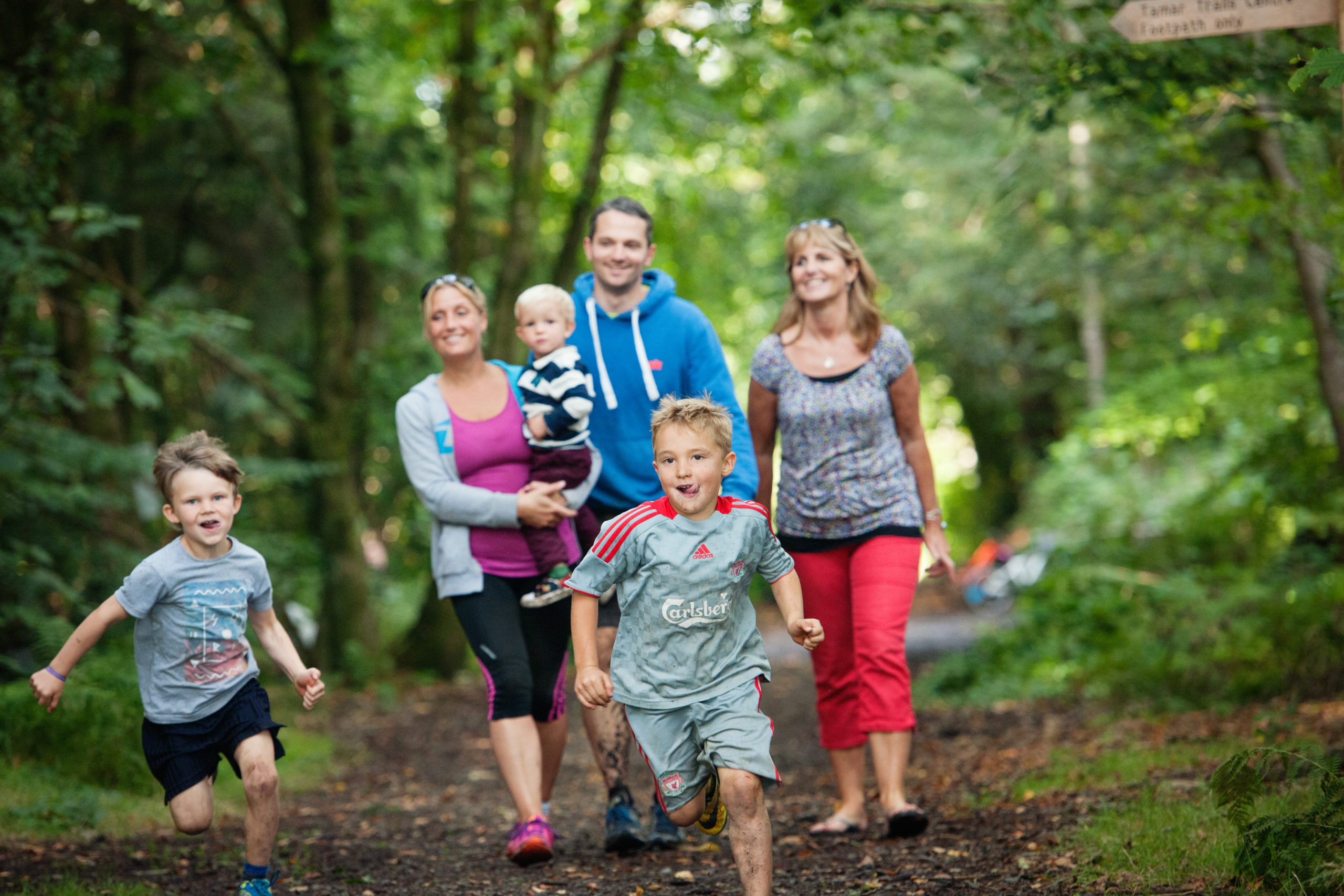 Family activites for free at the Tamar Trails